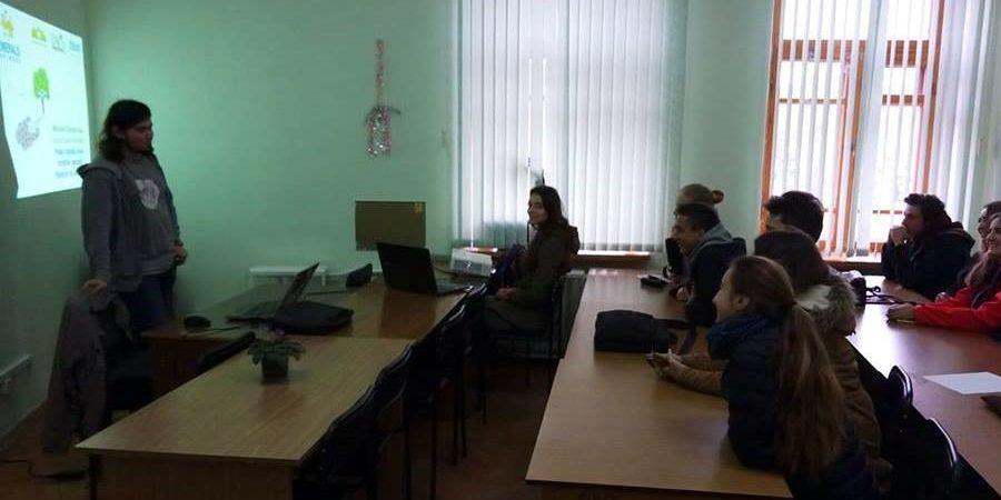 ергова зустріч UNCG зі студентами
