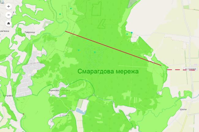 На Полтавщині на лівобережжі Ворскли агрофірма на орендованих землях планує створити зрошувальну систему площею 1100 га.